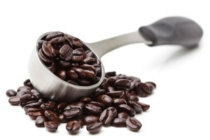 Coffee Scoop and Beans