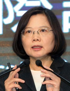 THE VICTOR - Presdient-elect Tsai Ing-wen, who will be the first woman to lead a modern Chinese-speaking society. (Photo: CNA)