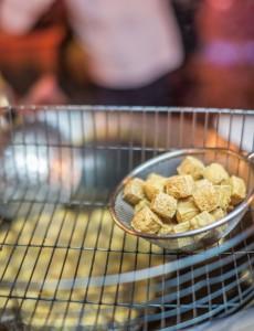 taiwan stinky tofu street food