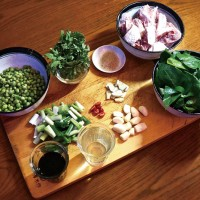 Taiwanese cooking ingredients