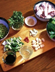 Taiwanese cooking ingredients