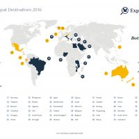 top expat destinations 2016. Source: internations expat survey