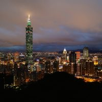 Taipei 101, the tallest and largest green building of LEED Platinum certification in the world since 2011. Photo: Romain Pontida