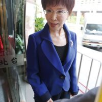 "RESOLUTE - KMT Chairwoman Hung Hsiu-chu has faced down criticism over her planned trip to China and stress on the ""1992 Consensus"" Photo: CNA"
