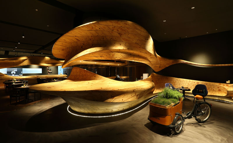 "The interior of Raw, a 60-seat ""lifestyle restaurant"" (Photo: Raw)"