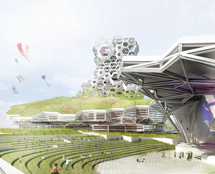 Kaohsiung-Music-Center-futuristic-architectural-design